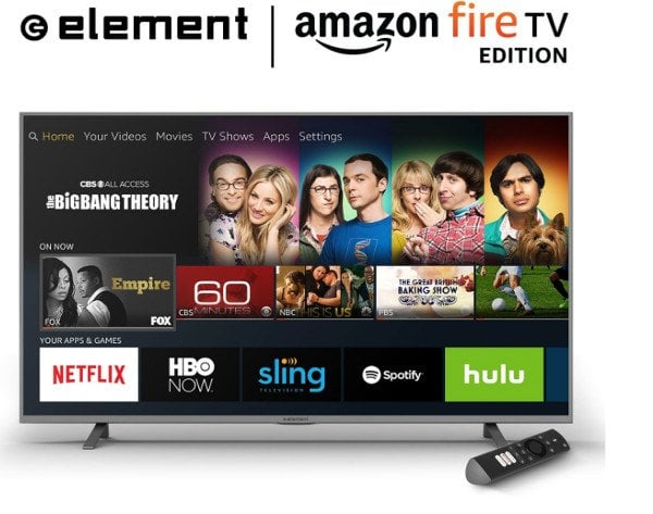 Amazon Fire TV Edition televisions unveiled, now available for pre-order