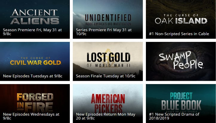 How to Watch History Channel LIVE Without Cable (2019 Update)