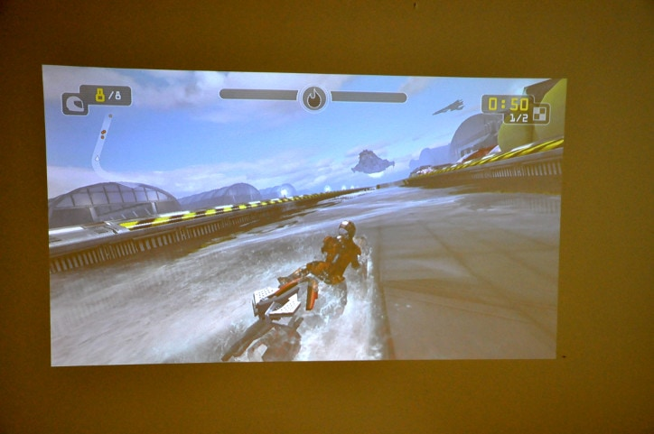 gaming-on-projector